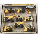 Juguete Construcción Cat Mini Máquina De 8-pack