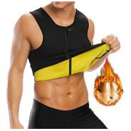 Camiseta Termoactiva Con Cierre Hombre Ejercicio Fitness