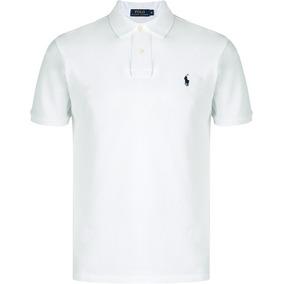 7e3fc03f1f Camisa Polo Ralph Lauren Branca - Pólos Masculinas no Mercado Livre ...