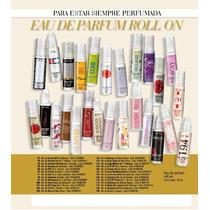 Set De 5 Mini Perfumes Roll On X 10 Ml De Millanel