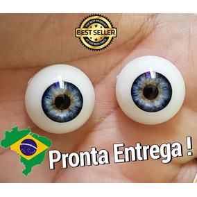 04 Pares De Olhos Variados 18mm 20mm 22mm P/ Bebê Reborn