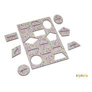 Presente Criativo Formas Geométricas Para Crianças
