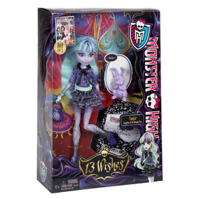 Monster High Twyla 13 Wishes Jugueteria Bunny Toys