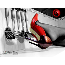 Envio Imediato! Sapato Feminino Stiletto Salto Alto Tam 36