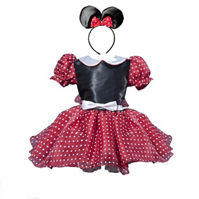 Vestido Princesa Disfraz Mimi En Rojo,rosa Envio Gratis