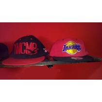 Gorra Con Vicera Snap Back Ymcmb Loa Angeles Lakers