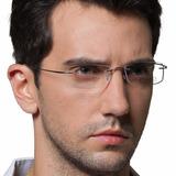 Armação Oculos Grau Titanio Original Feminino Masculino A01