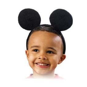 12 Diadema Orejas Mickey Mouse Mimi Disfraz Fiesta Infantil