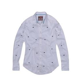 Camisa Feminina Libélula Bordada Khelf