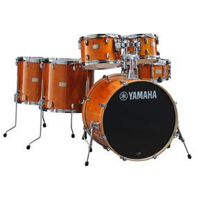 Yamaha Stage Custom Birch 22 Ha Bateria Acustica 6 Peças