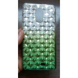 Capa Silcione Feminina Verde Quantum Muv Pro 5.5 + P/vidro