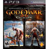 4 Juegos De Playstation 3 Ps3 God Of War 1, 2 Y Ascencion