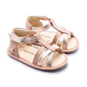 Sandália Tiras Transpassadas Baby Gambo Feminina S20546-rs