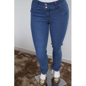 Calça Jeans Cintura Com Elástico
