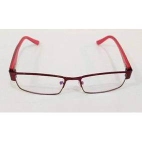 3682677fe9400 Armacao De Oculos Grau Lilas - Óculos Vermelho no Mercado Livre Brasil