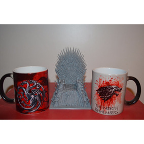 Taza Magica Game Of Thrones Stark Importada En Cajita Y Mas!