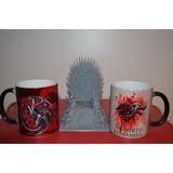 Taza Magica Game Of Thrones Stark Importada En Cajita Y Mas!