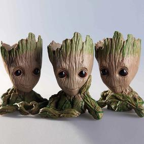Baby Groot Vaso Ou Porta Objetos Ótima Qualidade! Novo!