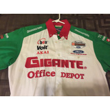 Remato Camisa Champ Car Michel Jourdain De Coleccion