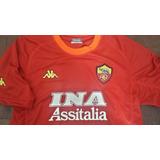 Camiseta Roma Campeón Serie A 2001 Retro Batistuta 18
