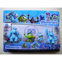 Monster University - Blister X 4 Muñecos - Importado.