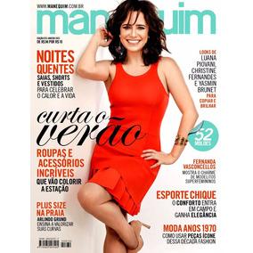 Revista Manequim 670 Fernanda Vasconcellos 52 Moldes Lacrada