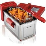 Nueva-2 Litros Freidora De Acero Inoxidable Cesta Cocina El