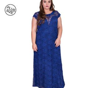 406a05708 Vestidos De Festa Longos Tamanho G2 G2 Azul marinho no Mercado Livre ...