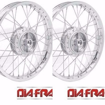 Roda Moto Honda Biz 125 Dianteira Traseira (par) Mod Origina