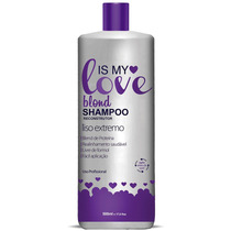 Shampoo Alisante Blond Liso Extremo Is My Love 500ml