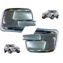 Cachas Cubre Espejo Ford Eco Sport Cromado Acero Tunning