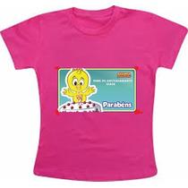 Camiseta Personalizada Galinha Pintadinha Aniversario