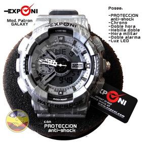 Reloj Exponi Anti Shock Patron Galaxy $16.000 Envío Gratis