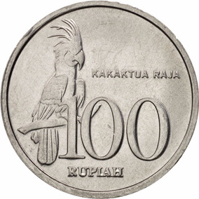 Indonesia 100 Rupias 1999 - Kakatua - Brillante - Muy Linda