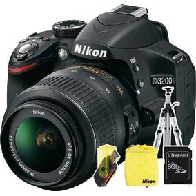 Nikon D3200 Kit 18-55 Full Hd 24mp Réflex En Stock!!!!!