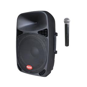 Parlante Activo Bluetooth Con Micrófono Inalámbrico