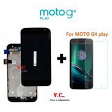 Tela Touch Display Lcd Moto G4 Play Xt1600 Xt1603 Com Aro