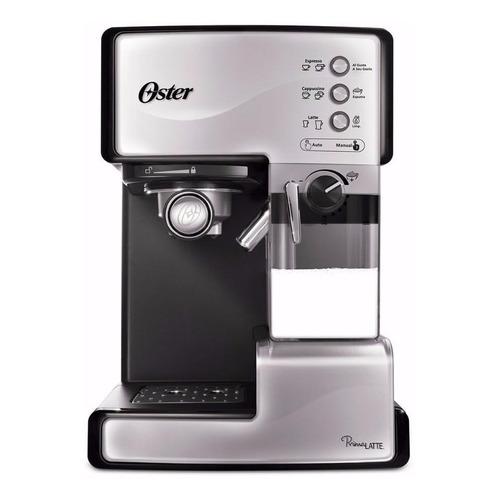 Cafetera Oster PrimaLatte BVSTEM6601 automática plata expreso 220V