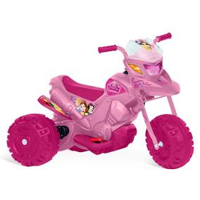 Ban Moto Elétrica Princesas Disney Rosa 6v Bandeirante