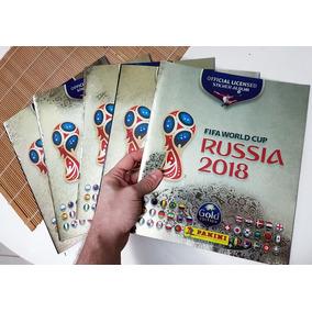 Álbum Copa Do Mundo Russia 2018 Gold Edition