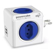Multiplicador De Tomada Bivolt C 2 Usb Powercube Pwc-r4u ELG