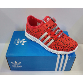 De Zapatos Deportivos Mujer En Rojo Damas Adidas Mercado N08nvmw