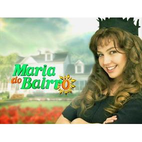 Dvd Novela Maria Do Bairro Dublada Completa Em 17 Dvds