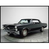 Pontiac Tempest Lemans Gto 1965 Cuadro Enmarcado 45x30cm