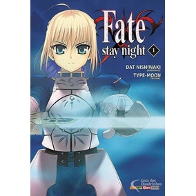 Mangá Fate Stay Night Vol 1 Ao 17, 19 E 20