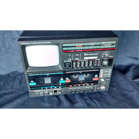 Radio Toca Fita E Tv Televisão Continental Mine Antiga