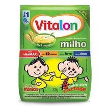 Mingau De Milho Sem Lactose Vitalon Turma Da Monica 200g