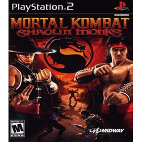 Mortal Kombat Shaolin Monks Patch Para Ps2 Desbloqueado