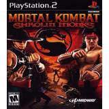 Mortal Kombat Shaolin Monks Patch Para Ps2 Desbloqueado