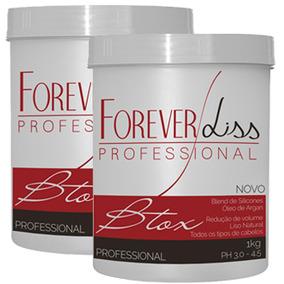 Forever Liss 2 Btxx Capilar Argan Oil 1kg # O Melhor